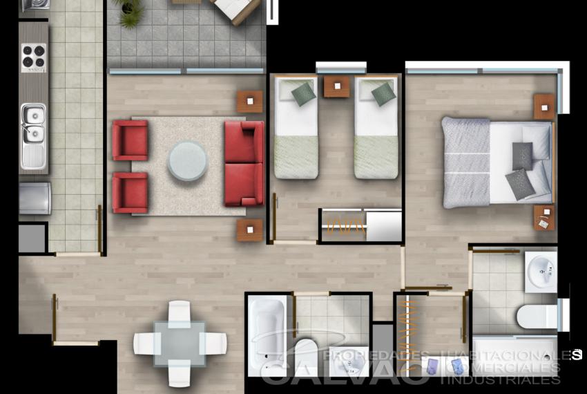 07 - 65,35 m2