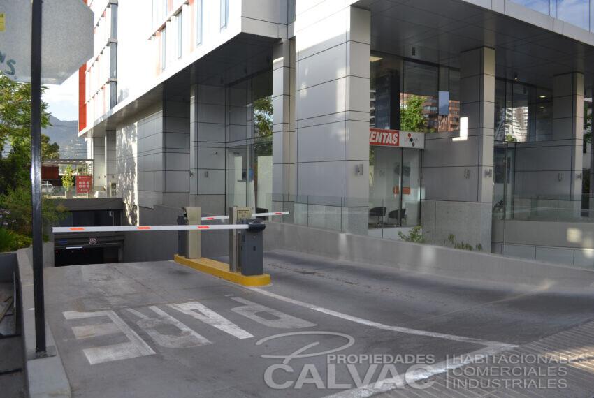 Acceso estacionamiento